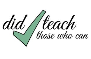 Did Teach offers opportunities in different sectors beyond the classroom.